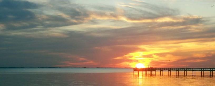 Sunset over Charlotte Harbor, FL